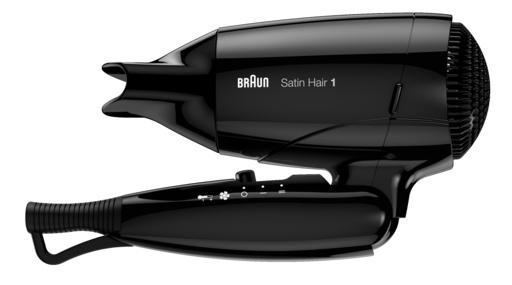 Braun Haartrockner Satin Hair 1 Style&Go für Reisen