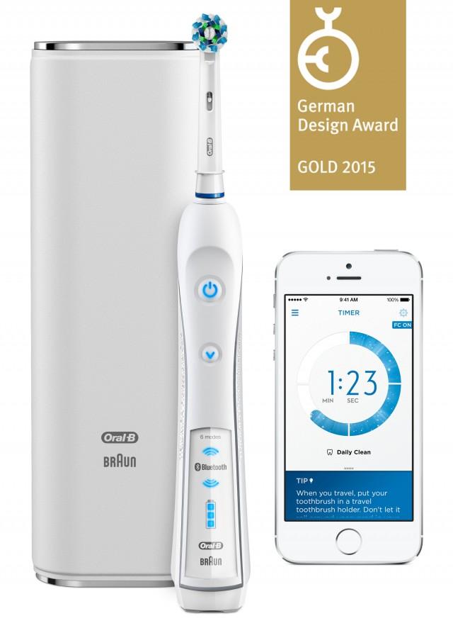 Für die Oral-B SmartSeries gab es den German Design Award