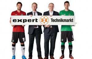 expert bleibt Co-Sponsor von Hannover 96