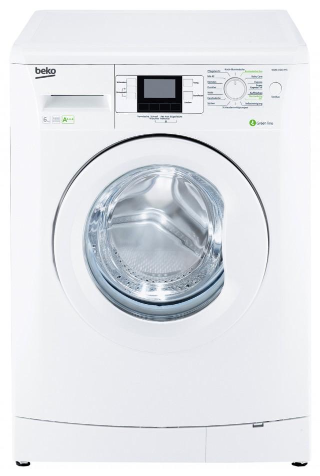 Beko Waschmaschine WMB 61643 PTE mit Baby Protect-Programm