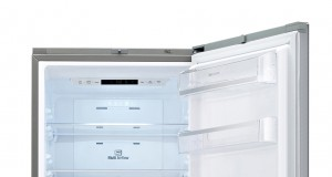 LG Kühl-/Gefrierkombination GBB 530 VMCQE mit • Noble Steel-Oberfläche