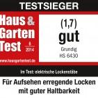 Logo Haus & Garten Test Grundig