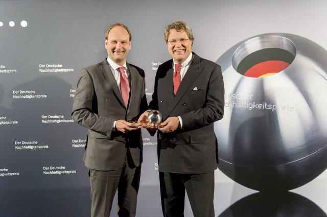 Dr. Markus Miele (li) und Dr. Reinhard Zinkann