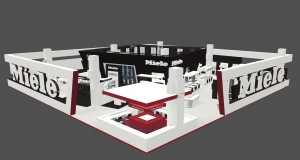 Miele Messestand zur Living Kitchen
