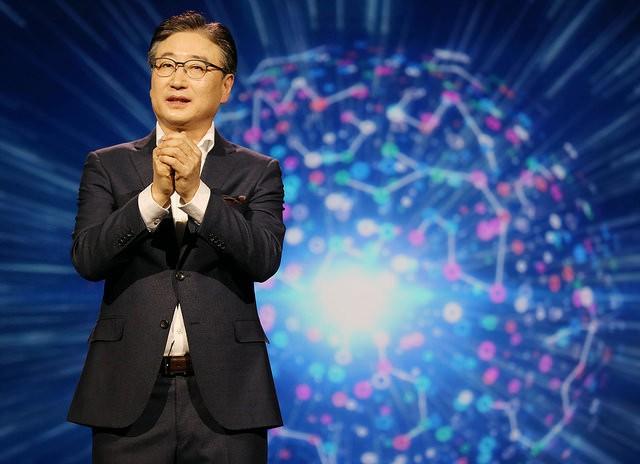 Samsung CEO BK Yoon in Las Vegas