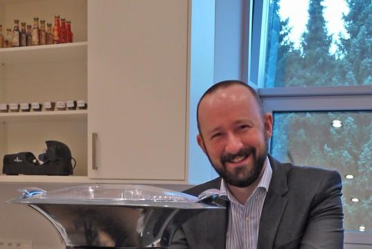 Sascha Steinberg von Severin mit James