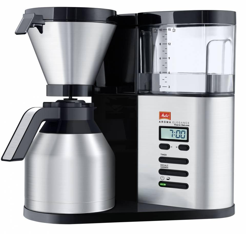 Melitta Kaffeemaschine AromaElegance Therm DeLuxe mit Aroma Premium Technology