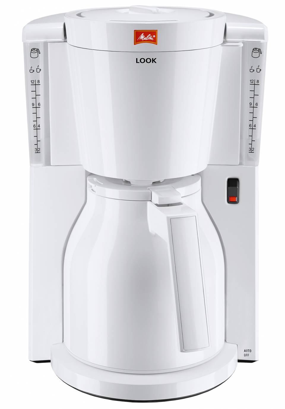 Melitta Kaffeemaschine Look Therm mit Thermokanne aus Kunststoff