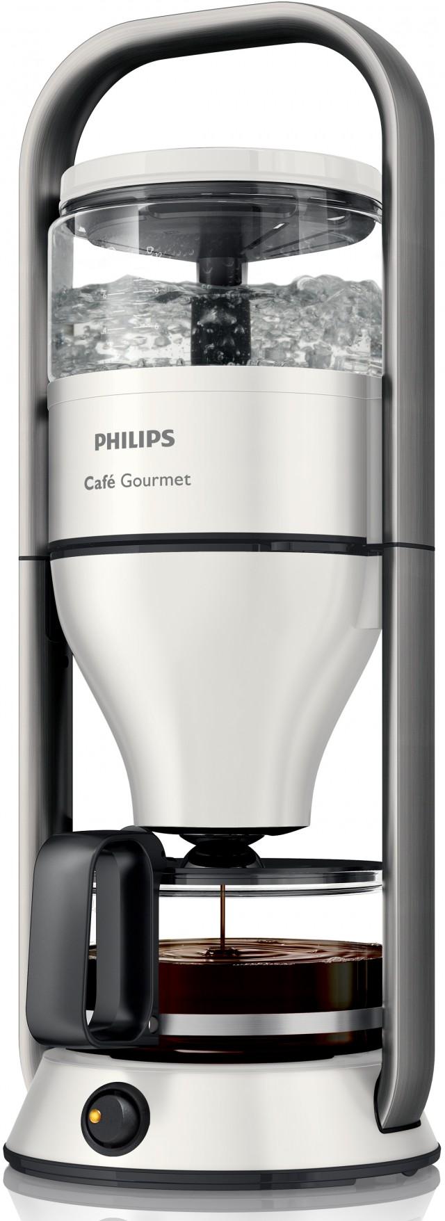 Philips Kaffeemaschine Café Gourmet HD5407/10 mit Direkt-Brüh-Prinzip