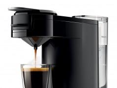 Philips Kaffeemaschine Senseo Up, kleiner als DIN A4 Blatt.