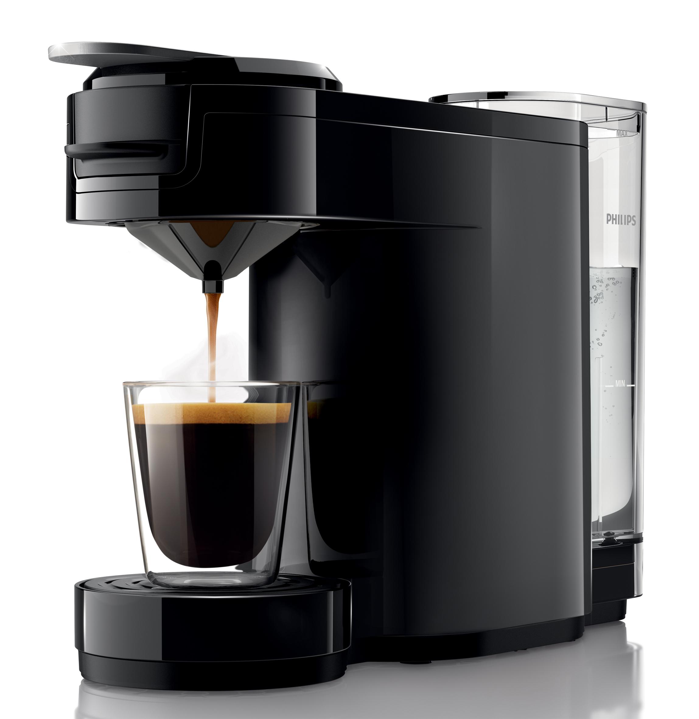 philips kaffeemaschine senseo up kompakte kaffeepadmaschine. Black Bedroom Furniture Sets. Home Design Ideas