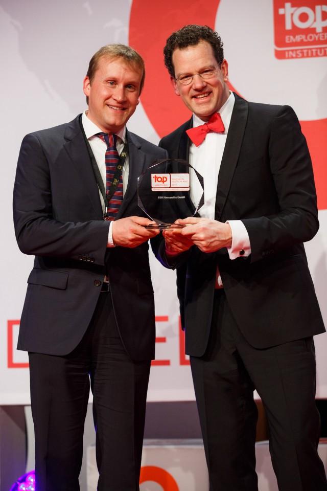 BSH Auszeichnung Top Arbeitgber