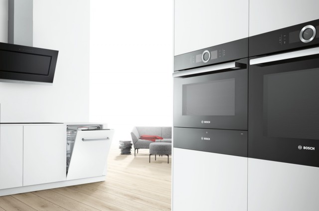 Im Mittelpunkt der ausgezeichneten Produkte von Bosch steht die Serie 8.