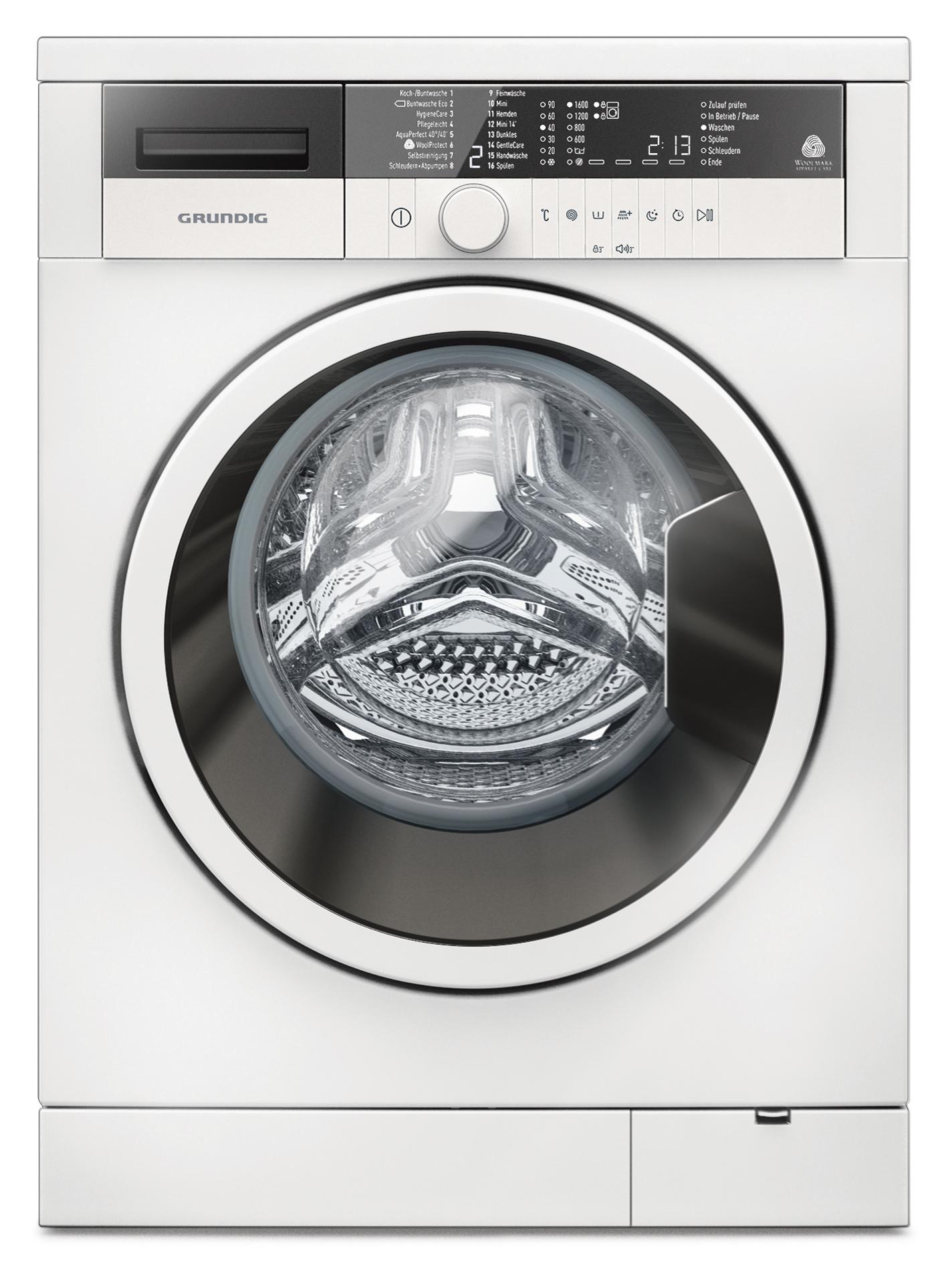 Grundig Waschmaschine GWN 36630 - 6 kg Fassungsvermögen ...