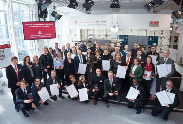 Die Preisverleihung zur KüchenInnovation des Jahres hat sich für Experten, Hersteller und Jurymitglieder zu einem beliebten Branchentreff entwickelt.