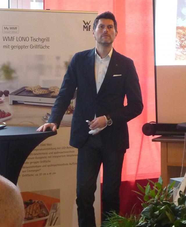 """""""Wir sind das Start-Up der WMF"""", Martin Ludwig, Geschäftsführer WMF CE."""