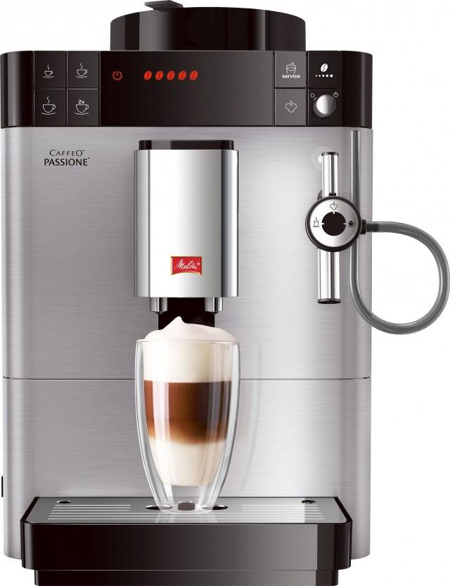 Melitta Kaffeevollautomat Caffeo Passione SST mit Best Aroma System.