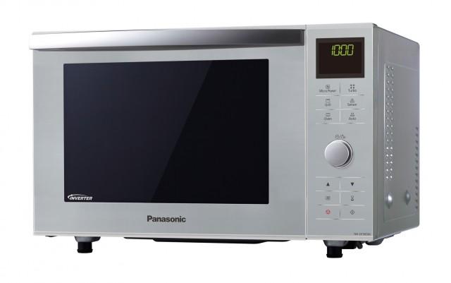 Die Panasonic Mikrowelle NN-DF385M ist Mikrowelle, Grill und Backofen.