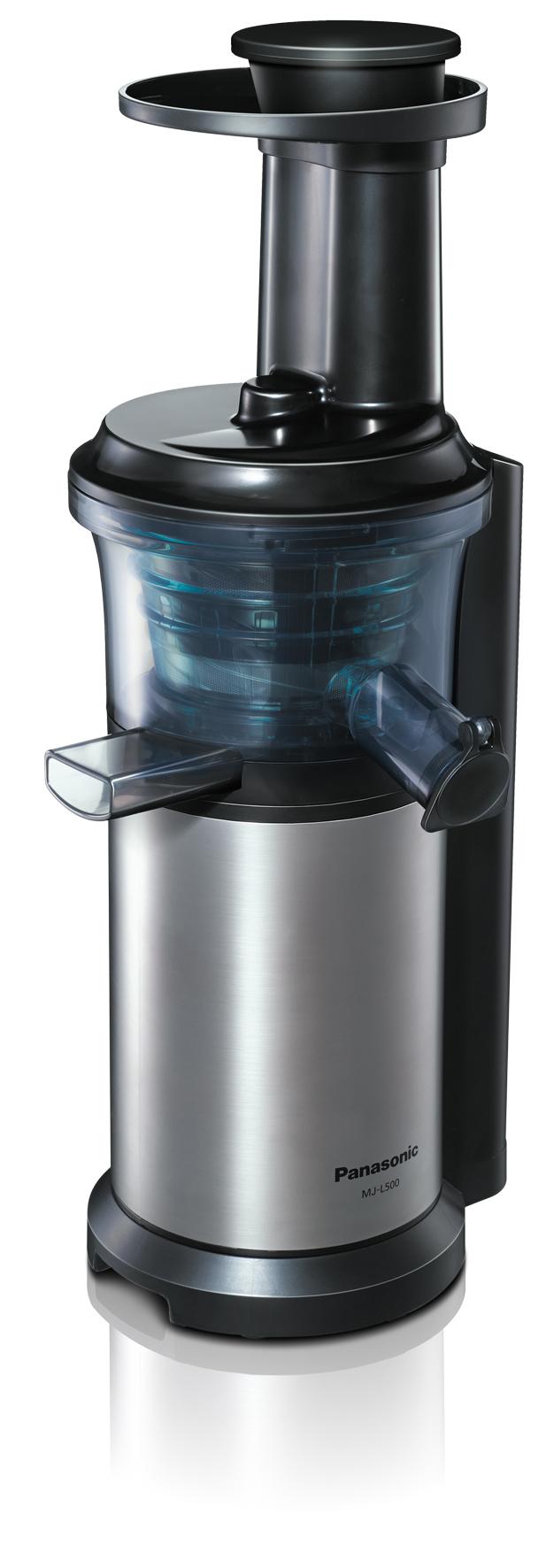 Der neue Slow-Juicer MJ-L500 von Panasonic sorgt für reichlich Vitamin-Nachschub.