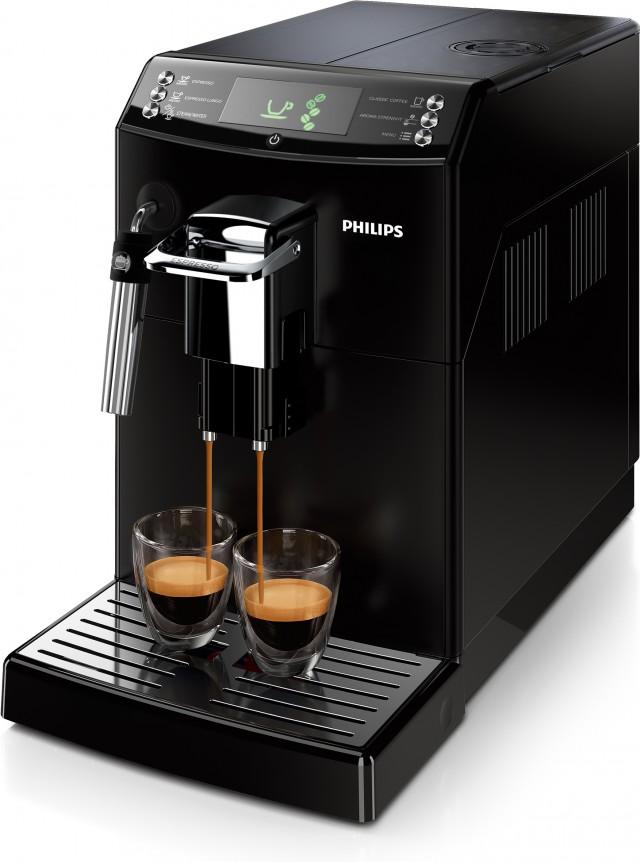 Philips Kaffeemaschine Serie 4000 HD8841/01 mit Panarello.