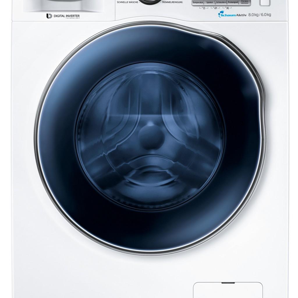 samsung waschtrockner wd80j64 8kg waschen 6 kg trocknen. Black Bedroom Furniture Sets. Home Design Ideas