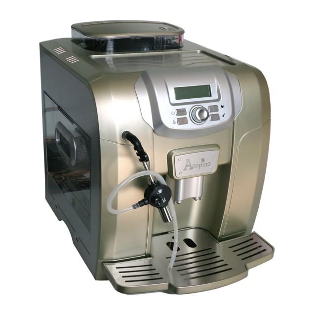 Der Acopino Ravenna Kaffeevollautomat in der Farbe Champagne