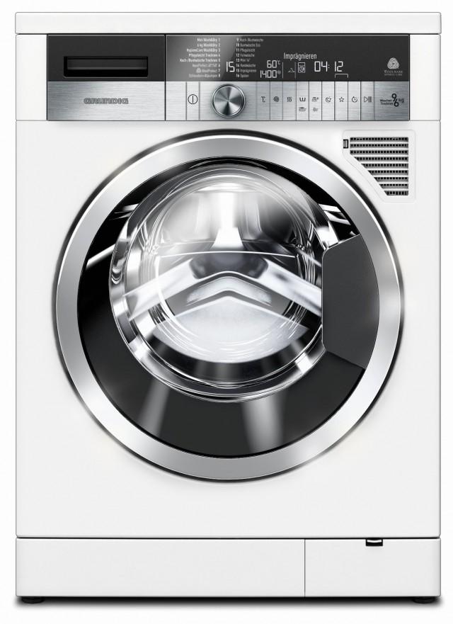 Der Grundig Waschtrockner GWD 59405 kann auch imprägnieren