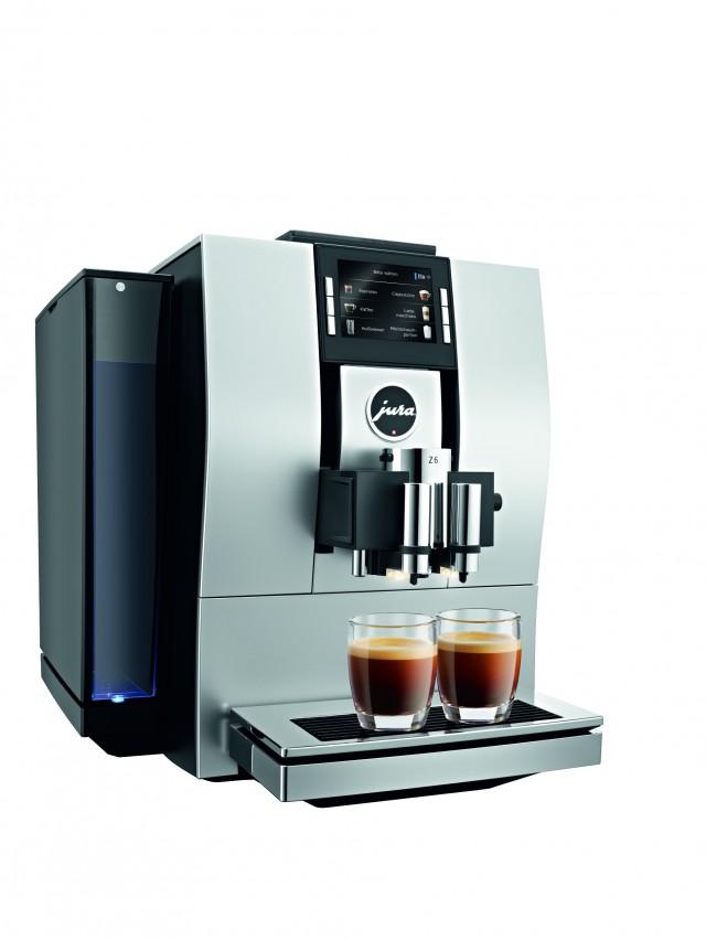 Der Jura Kaffeevollautomat Z6 für vollendeten Kaffeegenuss