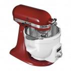 Die  KitchenAid Artisan Küchenmaschine mit Mixschschüssel