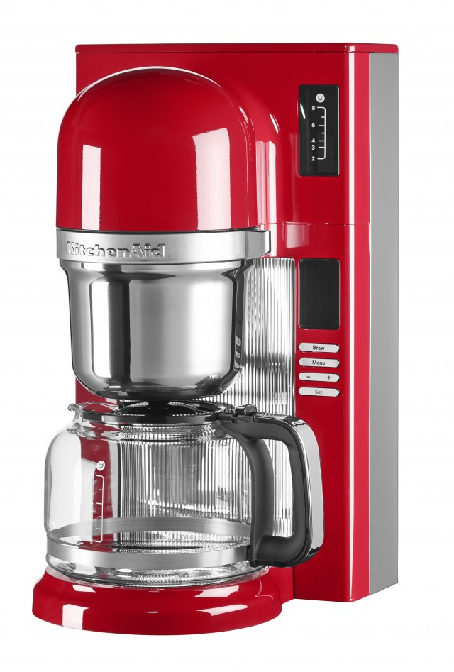 KitchenAid Filterkaffeemaschine in Empire-Rot