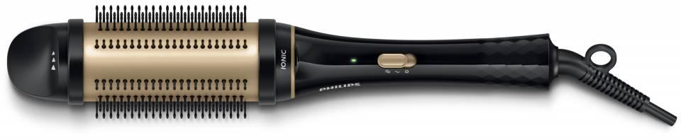 Die Philips KeraShine Stylingbürste HP8632/00 mit einziehbaren Borsten