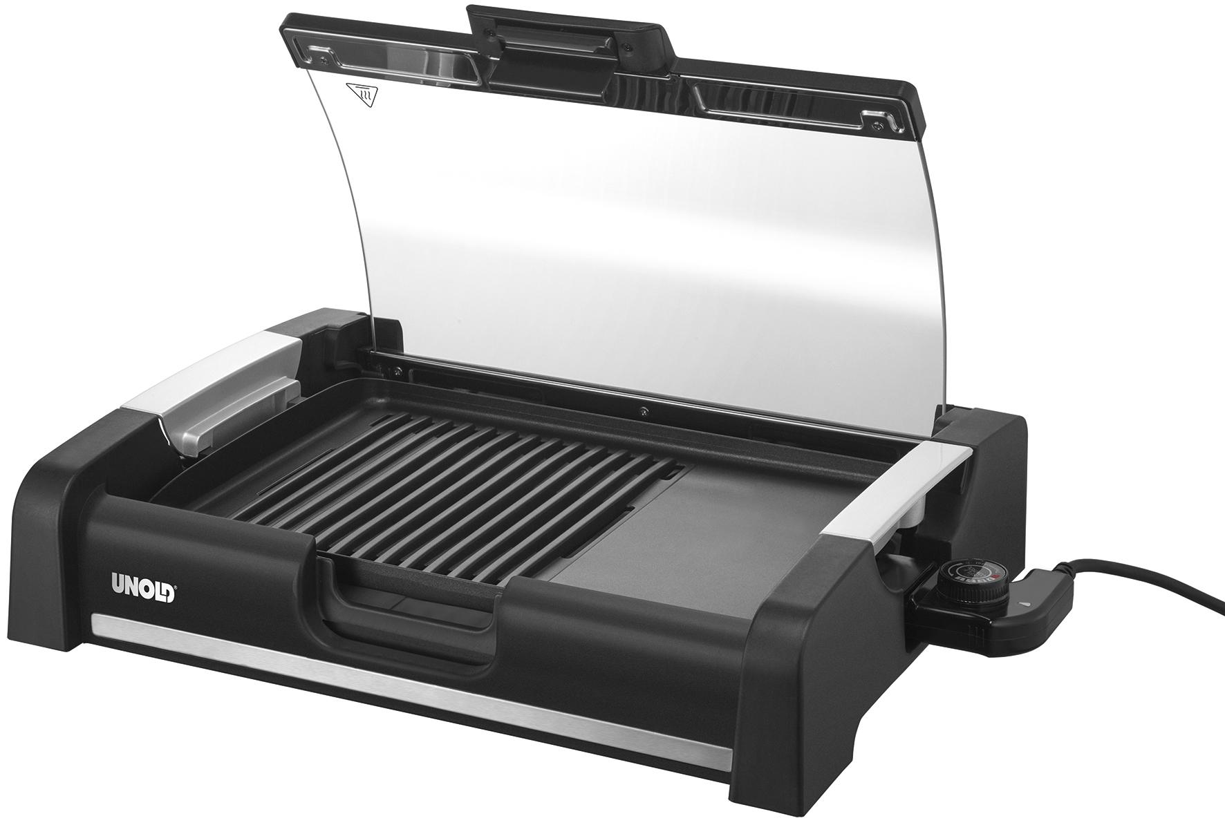 Unold Elektrogrill Test : Unold barbecue grill edel reinigt sich fast von alleine