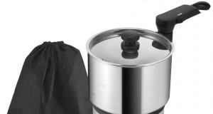 Der Unold Reise-Kocher Hot Pot, ideal für unterwegs