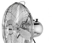Der Unold Tischventilator Chrome sorgt für frischen Wind