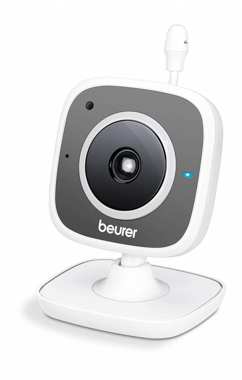 Beurer Babyphone BY 88 Smart mit Geräusch-, Bewegungs-, Temperaturalarm.
