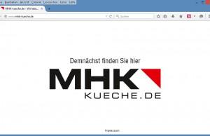 Screenshot MHK Küche