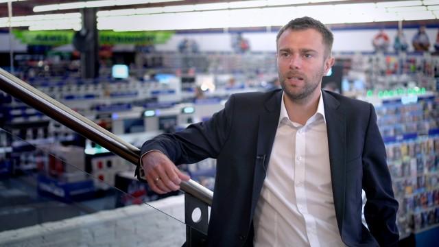 Euronics XXL Geschäftsführer Daniel Kirberg