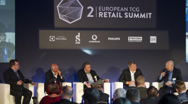 Heiße Diskussionen auf der TCG Retail Summit