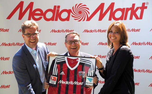 Media Markt und der FC Ingolstadt betreten ab August die große Bühne Bundesliga.