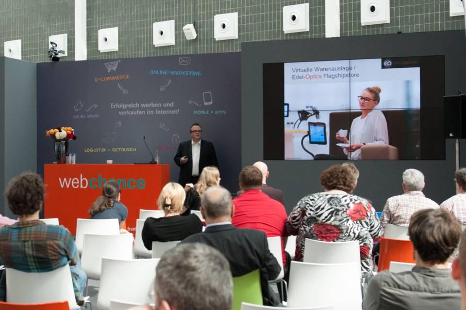 Auf der Tendence in Frankfurt: Kostenlose Fachvorträge zum optimalen Online-Auftritt.