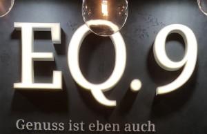 Vorhang auf, Bühne frei: Präsentiert wurde die neue EQ.9 in der Kaffeerösterei Dinzler.