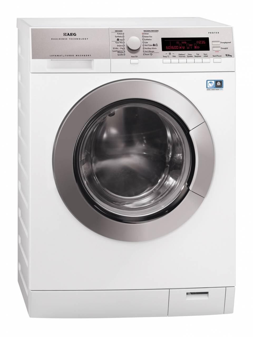 AEG Waschtrockner Lavamat DualSense mit Schontrommel.