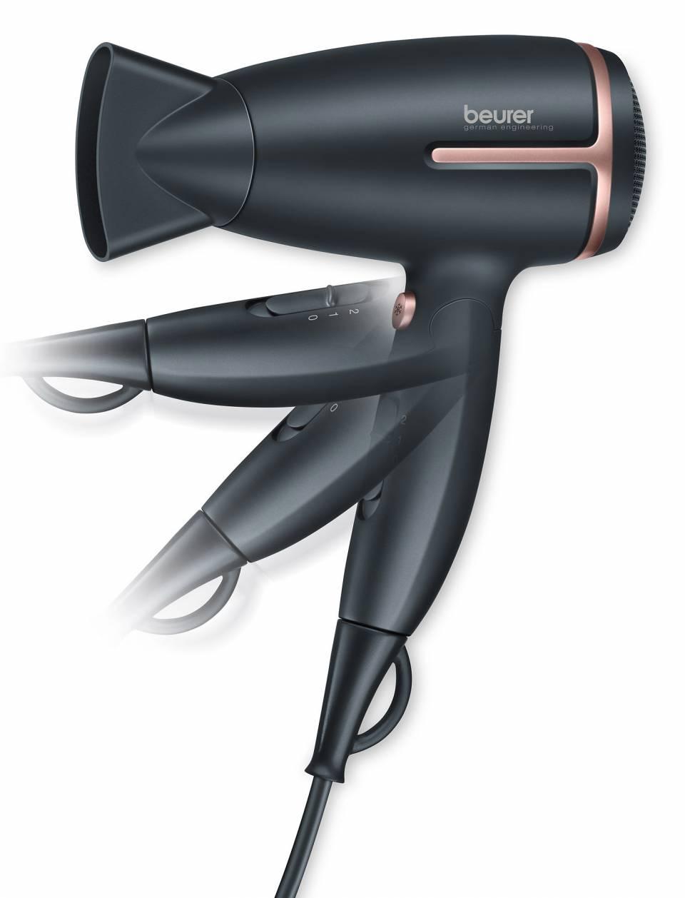 Beurer Haartrockner StylePro HC 25 ist ein Reisehaartrockner.