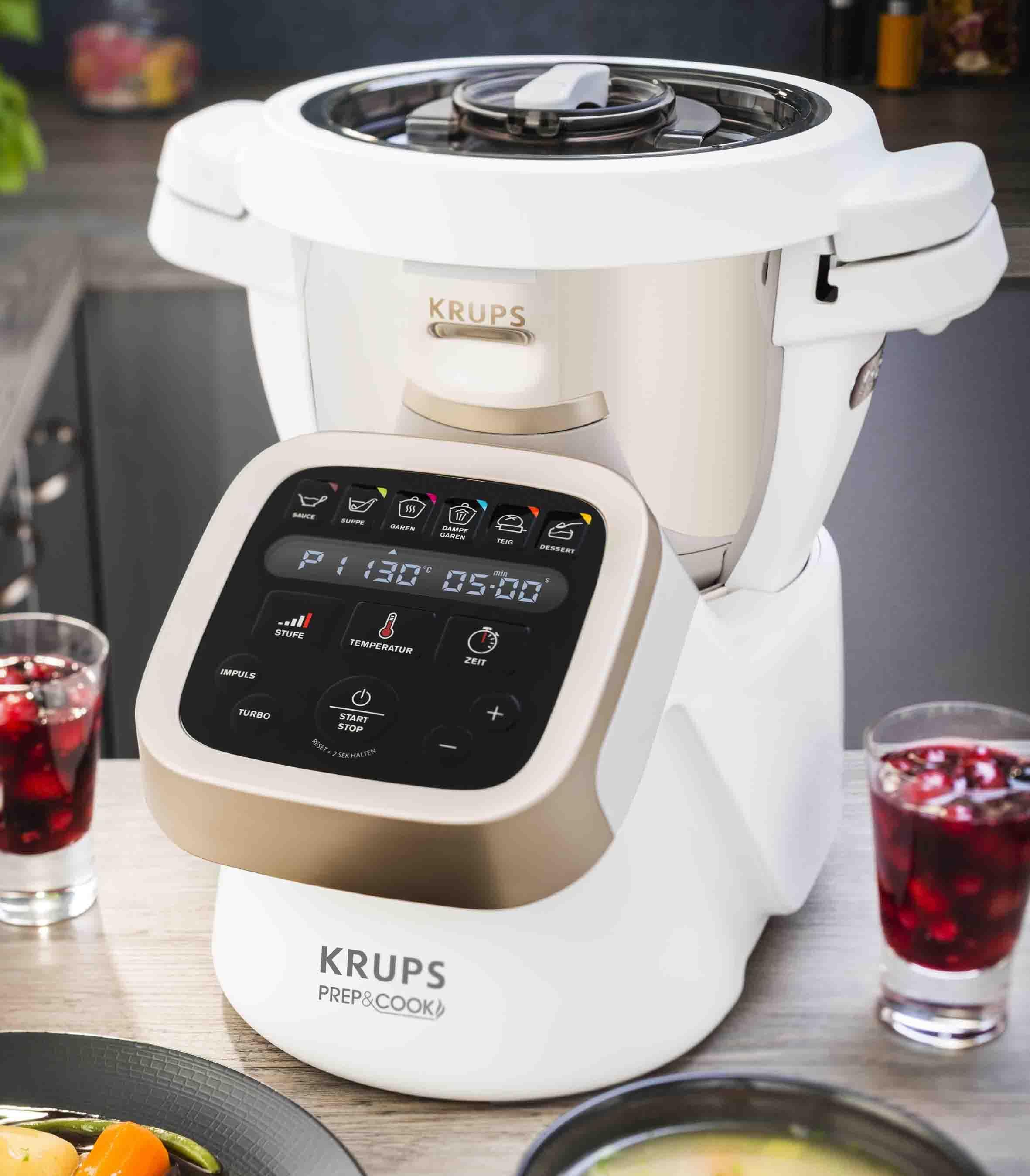 Krups Küchenmaschine Prep & Cook HP5031 – Schneiden, Mixen, Kochen