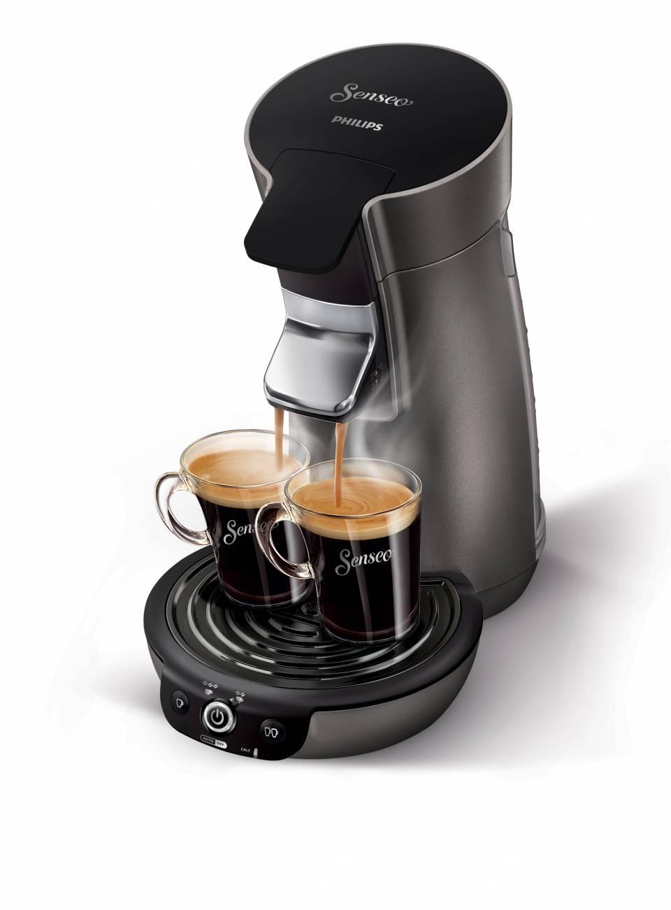 Die Philips Kaffeemaschine Senseo Viva Café Style HD7833/50 eine vielseitge Pad-Maschine