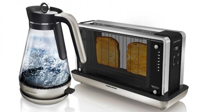 Vom UX - Design Award geadelt: Der Wasserkocher und Toaster aus der Redefine-Range von Morphy Richards.