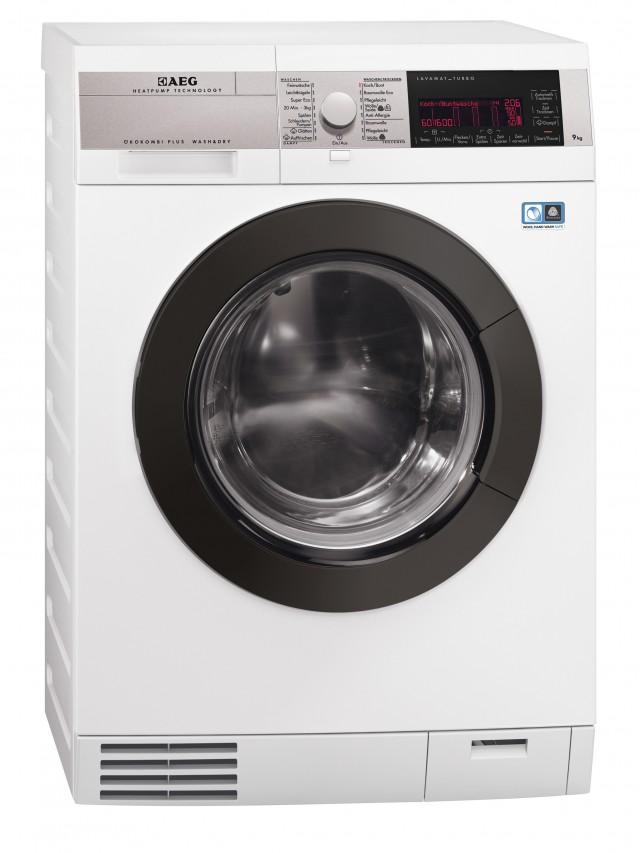 AEG Waschtrockner Lavamat ÖkoKombi Plus mit Wärmepumpe