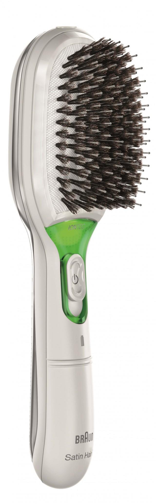 Braun Haarbürste Satin Hair 7 mit Ionen-Technologie.