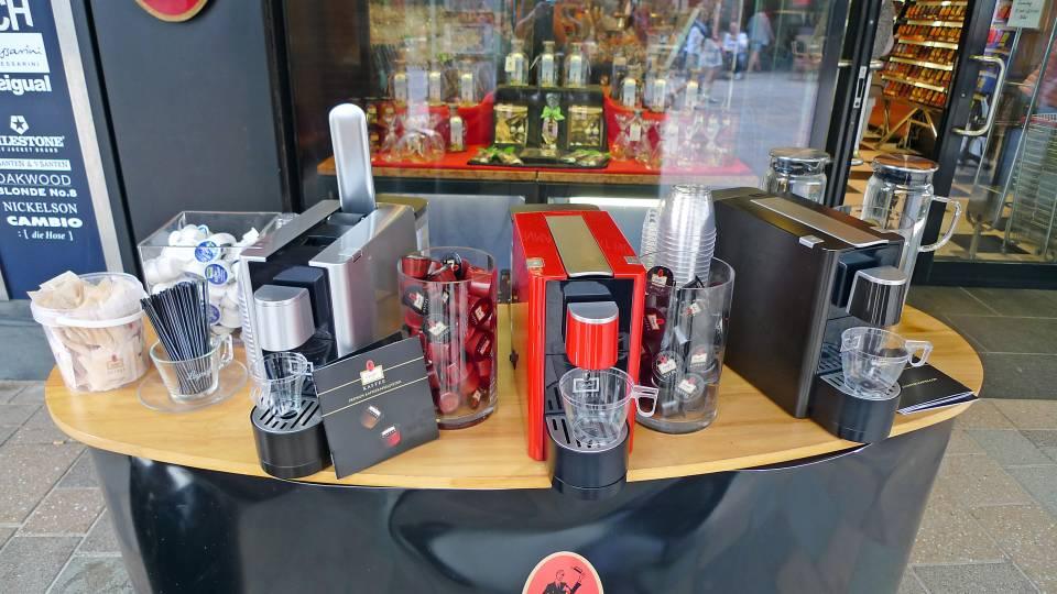 Kaffee-Kapselsystem von Leysieffer