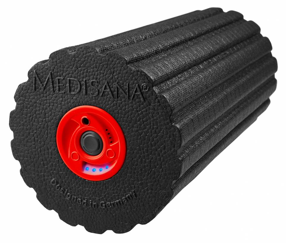 Medisana Massagerolle PowerRoll mit Tiefenvibration.